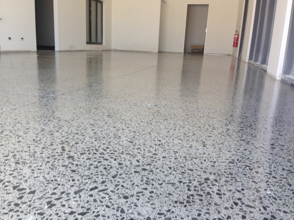 Polished concrete concord industrial coatings concord for Polished concrete maintenance